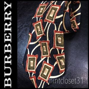 🆕 Burberry London Silk Tie